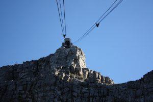 Obere Seilbahnstation auf Tafelberg