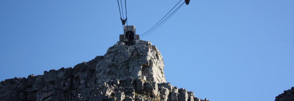 Tafelberg Cableway – die Seilbahn am Tafelberg
