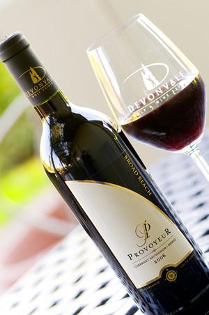 Südafrikanischer Wein vom Devonvale Estate